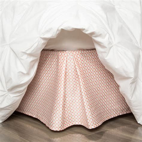 Duvet Cover Sheets Coral Bed Skirt Coral Morning Glory Bed Skirt Crane