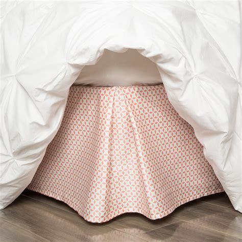 coral bed skirt coral bed skirt coral morning glory bed skirt crane