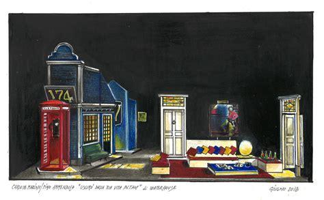 Bozzetti Scenografie Teatrali by 22 Bozzetto Scenografia Di Uscir 242 Dalla Tua Vita In Taxi