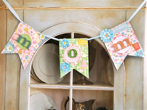 Handmade Banners - craft make a quot quot banner for s day hgtv