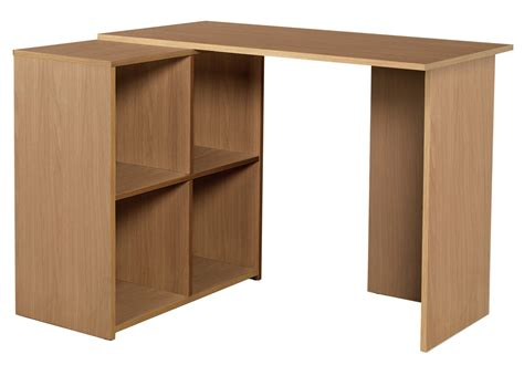 Large Corner Desk Oak Effect Oak Effect Corner Desk