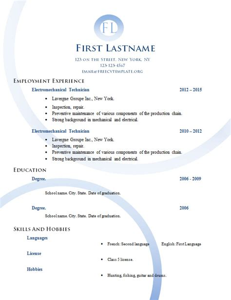 free wordpress layout editor after completing your resume use the formatting features