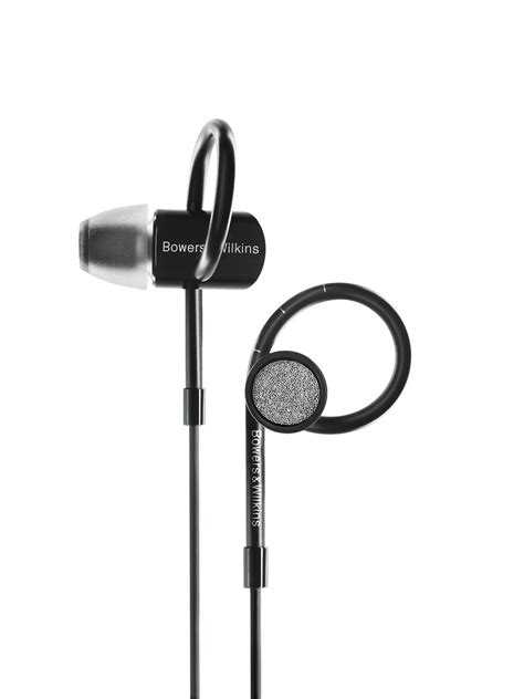 Headset Bluetooth Gblue C5 Black Bowers Wilkins C5 S2 In Ear Wired Headphones