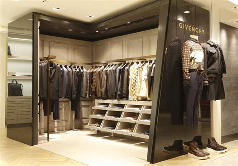 mens shop by givenchy shop in shop at hankyu s store tokyo