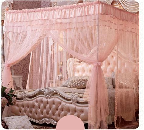 king size canopy bed with curtains rose 4 post bed canopy lace mosquito net twin xl full