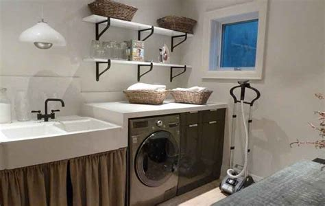 basement laundry room ideas and storage solutions design