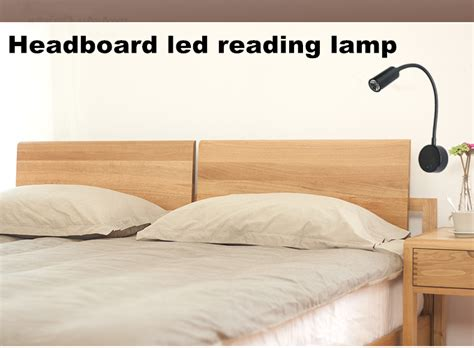 reading l for headboard 1 w 110 v 220 v flexible tuyau h 244 tel led mur le t 234 te de