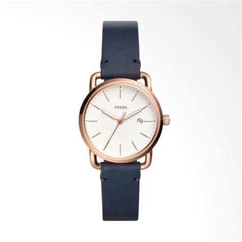 Jam Tangan Wanita Fossil Gold jual fossil the commuter es4334 jam tangan wanita