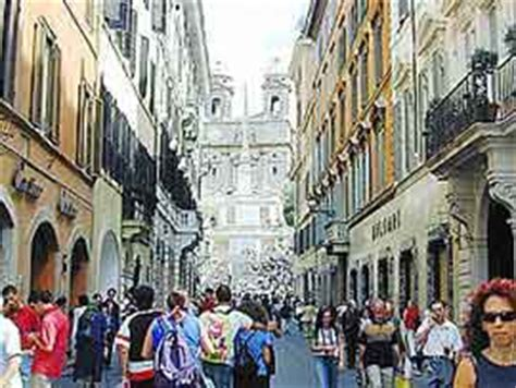 best shopping areas in rome rome shops where to shop in rome italy