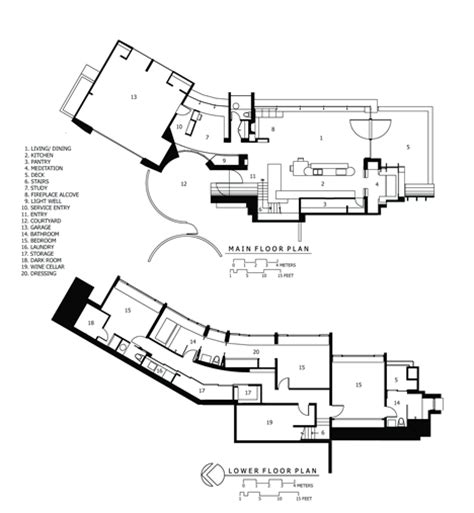organic architecture floor plans planet amusing organic architect robert oshatz s wowsa