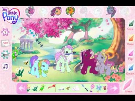juegos e decorar juego decorar my little pony youtube
