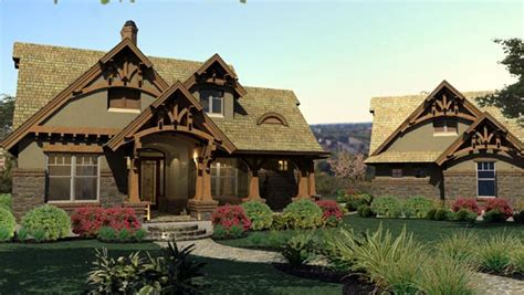 Tuscan Cottage House Plans Bungalow Cottage Craftsman Tuscan House Plan 65870