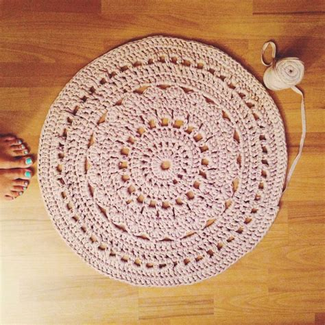 doily rugs doily rug crochet diy crafts