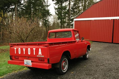 toyota old old parked cars toyota treasure trove 1967 toyota stout