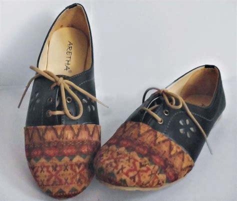 Sepatu Tali Balet sepatu balet tali etnik arvanshop