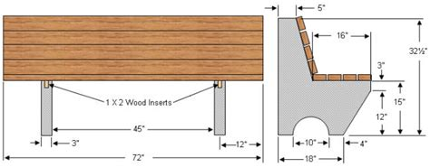 how to build a concrete bench seat how to make garden benches part 1