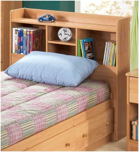 Diy Bookcase Headboard Diy Shelf Headboard Simple Gallery Of Storage Headboard Size Bed Stunning Also Diy With