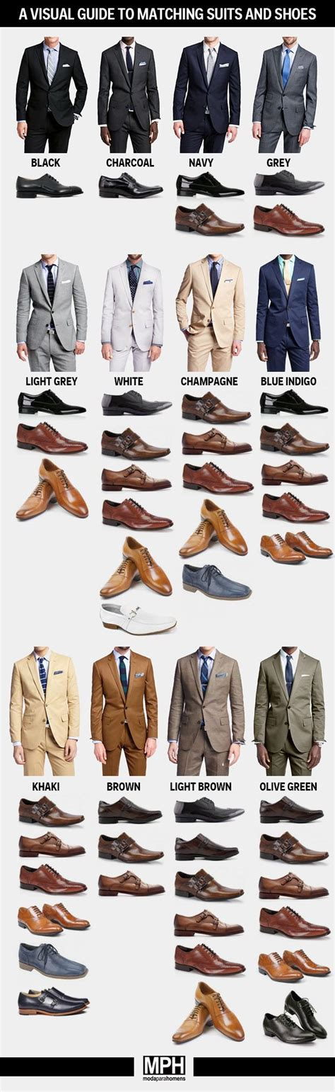 suit color guide how to shoes for every color suit business insider