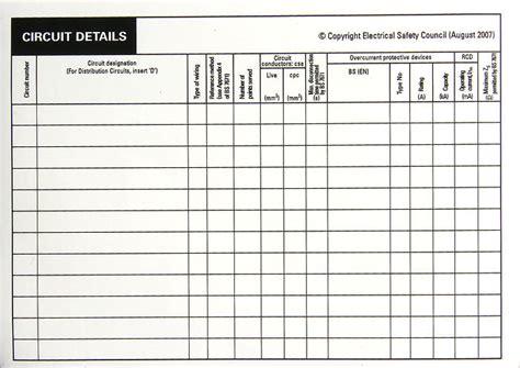 Emergency Lighting Test Certificate Template