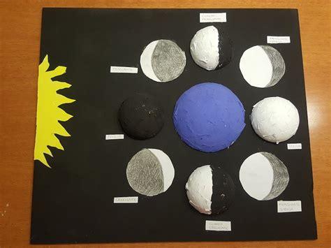 maquetas de lasfaces de la luna maquetas escolares fases de la luna soy mam 225 moderna