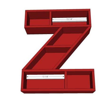 diy alphabet letters shelf desired home