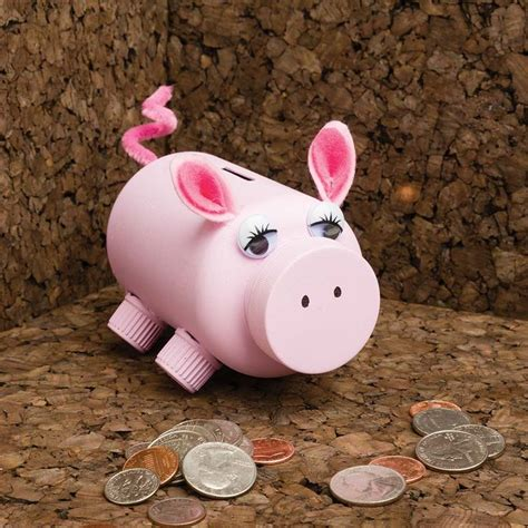 How To Make A Piggy Bank Out Of Paper Mache - 255 best diy images on