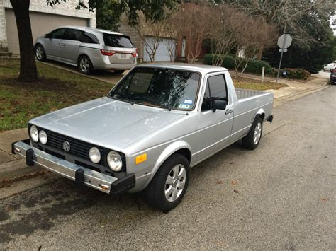 volkswagen caddy pickup 1982 vw caddy rabbit pickup 1 9 l diesel na w power