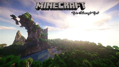 imagenes epicas de minecraft epico paisaje epic minecraft ep 9 seus survival series