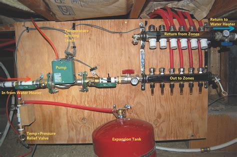 1 Room Radiant Heat Floors - the radiant heat experiment did it work