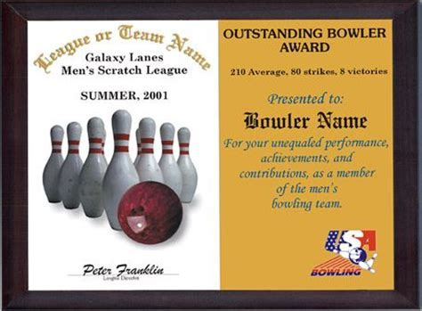 Free awards certificate template award certificate template printable free certificate borders printable bowling awards google search bowling pinterest bowling yelopaper Images