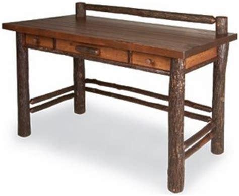 caign style desk rustic desks mission style desks log desks lodge craft
