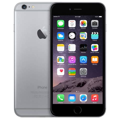 Iphone 6 Plus 128gb Grey by Apple Iphone 6 Plus 128gb Factory Unlocked Space Grey