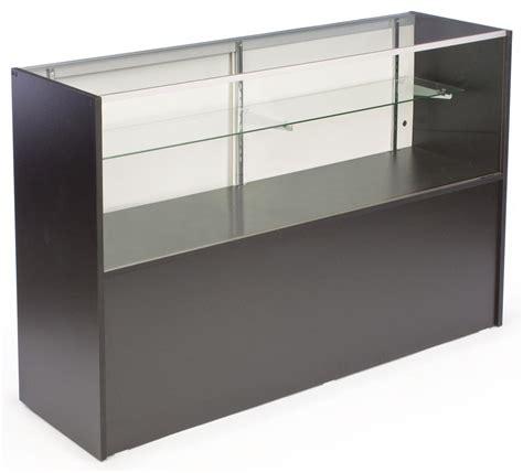 glass display shelves display adjustable glass shelves w sliding doors