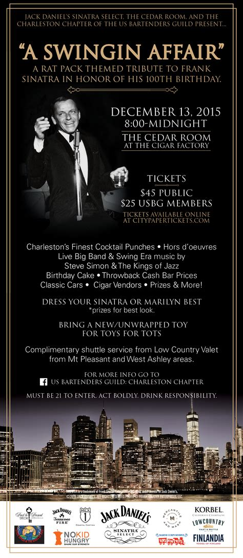a swinging affair a swingin affair tickets the cedar room charleston
