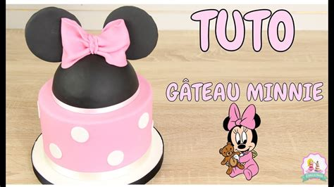 Decorer Gateau Pate A Sucre by Gateau D Anniversaire Minnie Pate A Sucre Decoration