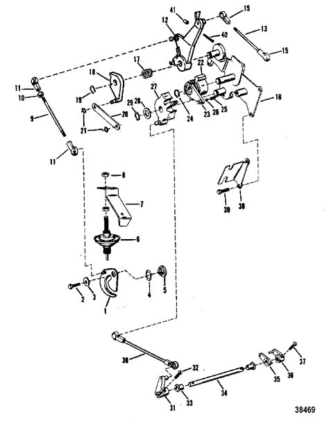 mercury shifter diagram 23 wiring diagram images