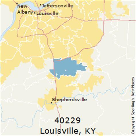 louisville zip code map best places to live in louisville zip 40229 kentucky
