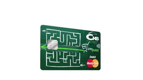 ckb bank ckb debit mastercard paypass