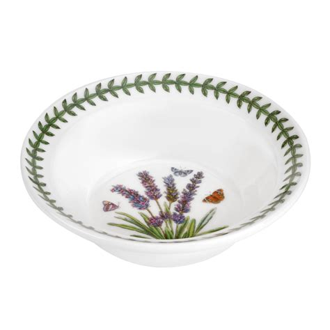 Portmeirion Botanic Garden Bowl Portmeirion Botanic Garden Lavender Oatmeal Bowl Set Of 6 Portmeirion Uk