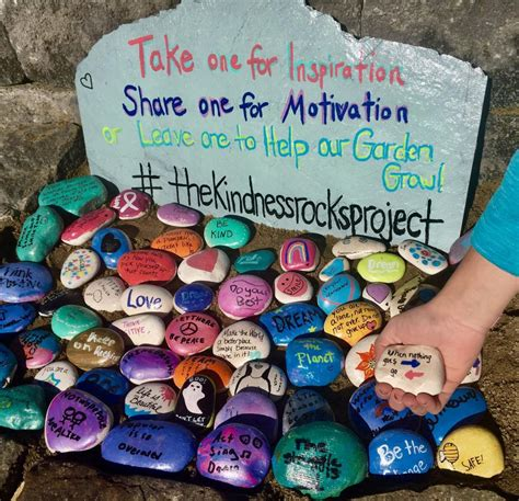 hometown column kindness rocks at hovey pond hometown