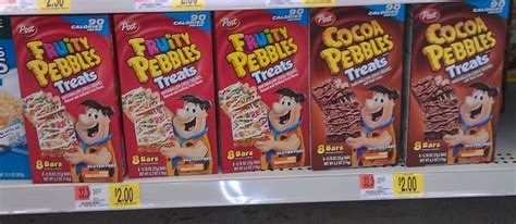 walmart treats great snack idea pebbles treats only 1 50 at walmart