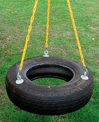 how do you make a tire swing how to make a fun tire swing