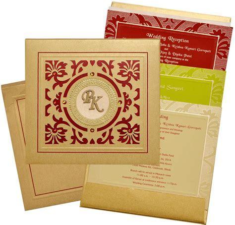 Indian Wedding Cards   US 1851