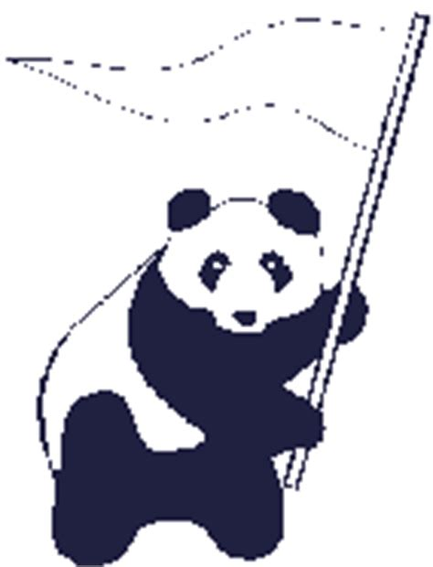 panda gif gambar animasi animasi bergerak  gratis