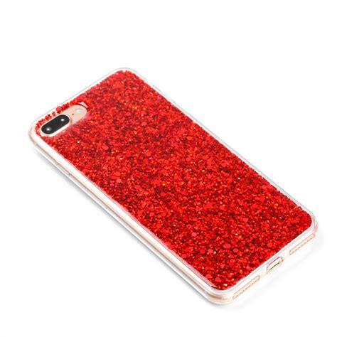 Casing Silikon Gliter Isi 5 bling sparkle glitter rubber tpu slim cover for iphone 5s 6s 7 plus ebay