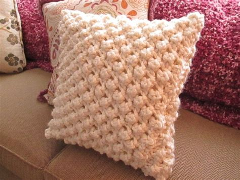 Reasonably Priced Home Decor by Popcorn Knit Pillow Cover 183 How To Stitch A Knit Or