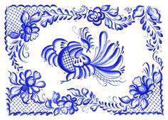 skandinavische tapete 1959 russian gzhel ornaments patterns k 233 k