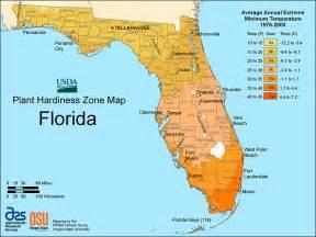 florida hardiness zones
