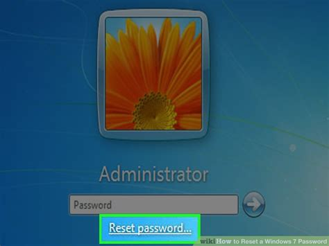 resetter t13x windows 7 3 ways to reset a windows 7 password wikihow