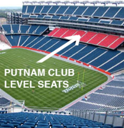 gilette stadium seats new patriots gillette stadium seating